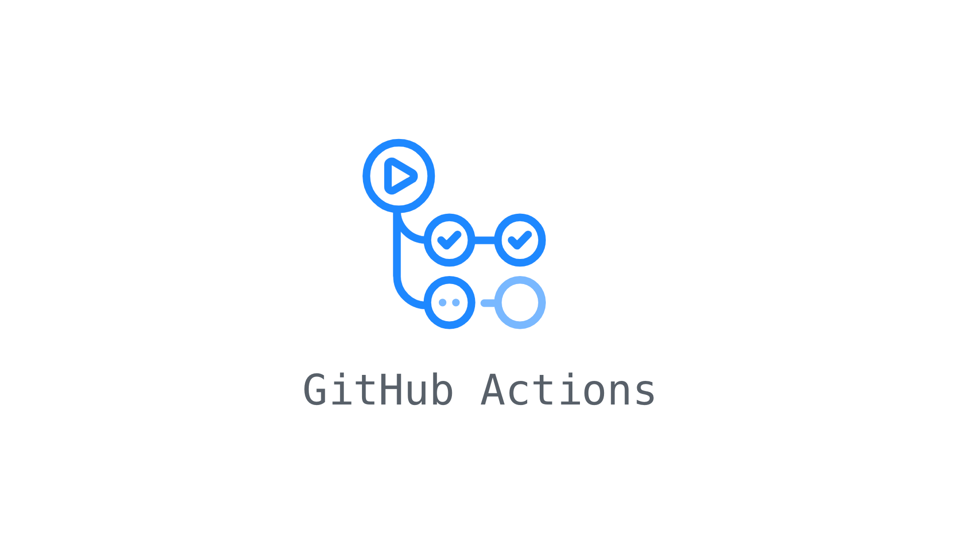 How to display GitHub Actions status badge image in your repository's README.md?
